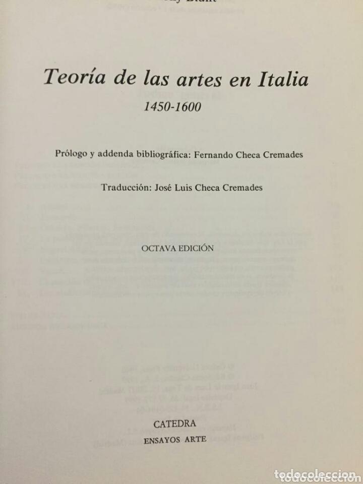 Libros: LA TEORIA DE LAS ARTES EN EUROPA - Foto 3 - 174018174