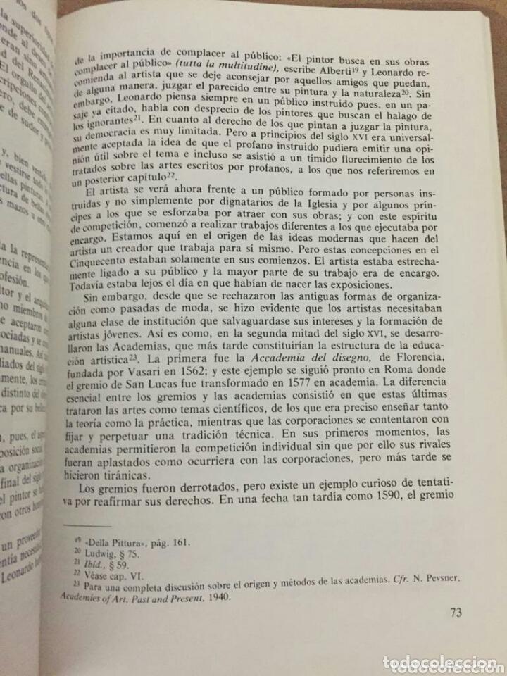 Libros: LA TEORIA DE LAS ARTES EN EUROPA - Foto 4 - 174018174