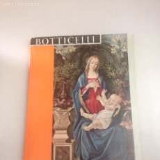 Libros: BOTTICELLI. LIONELLO VENTURI. Lote 178815968