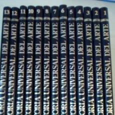 Libros: HISTORIA UNIVERSAL DEL ARTE,13 TOMOS EN BUEN ESTADO. Lote 180169220