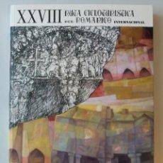 Libros: GALICIA: XXVIII RUTA CICLOTURISTICA DEL ROMANICO INTERNACIONAL (RUTAS DEL ROMANICO - PONTEVEDRA). Lote 184169191