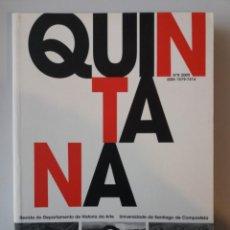 Libros: GALICIA: QUINTANA N º 2009 / REVISTA DO DEPARTAMENTO DE HISTORIA DA ARTE U. SANTIAGO. Lote 184354638