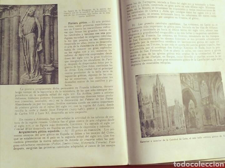 Libros: ARS Historia del Arte y la Cultura - E. Bagué, J. Vicens - Ed. Teide, 1969 edic. 11a - Foto 3 - 194138916