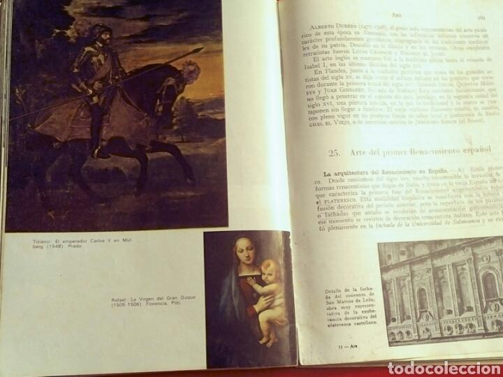 Libros: ARS Historia del Arte y la Cultura - E. Bagué, J. Vicens - Ed. Teide, 1969 edic. 11a - Foto 4 - 194138916