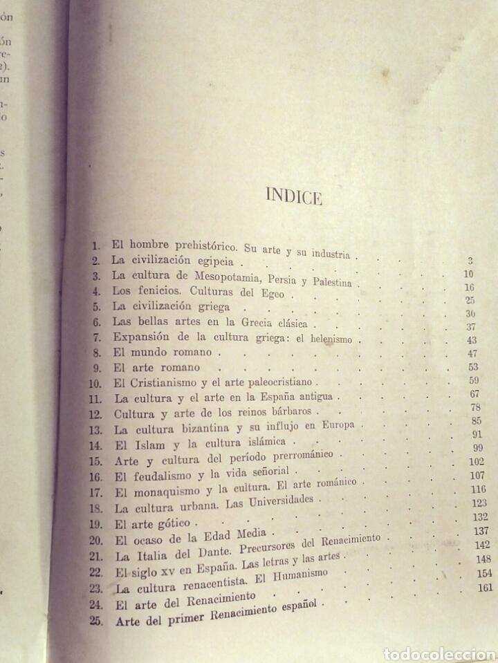 Libros: ARS Historia del Arte y la Cultura - E. Bagué, J. Vicens - Ed. Teide, 1969 edic. 11a - Foto 5 - 194138916