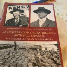 Livros: LA DESTRUCCIÓN DEL PATRIMONIO ARTÍSTICO ESPAÑOL. Lote 196867593
