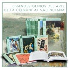 Libros: COLECCIÓN GRANDES GENIOS DEL ARTE DE LA COMUNITAT VALECIANA 15 LIBROS VA DESCATALOGADO!!! OFERTA!!!. Lote 197487545