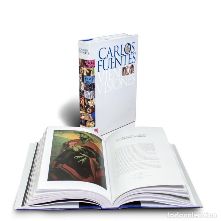 ARTE. VIENDO VISIONES - CARLOS FUENTES (CARTONÉ) DESCATALOGADO!!! OFERTA!!! (Libros Nuevos - Historia - Historia del Arte)