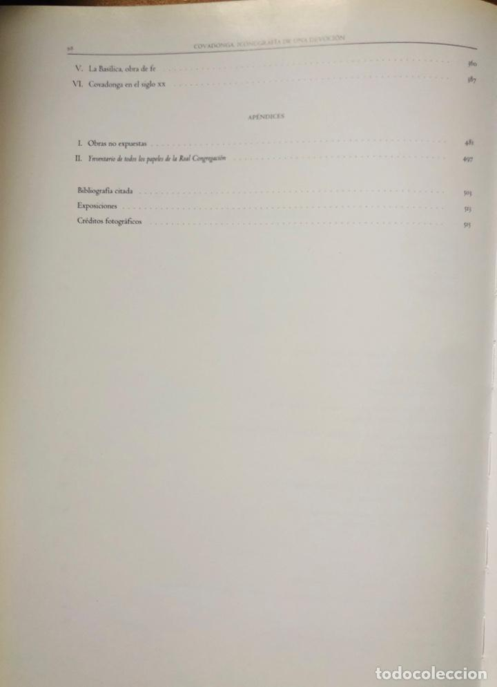 """Libros: """"Covadonga. Iconografia de una devoción"""". Exposición Centenario Dedicación Basílica de Covadonga - Foto 4 - 197752528"""