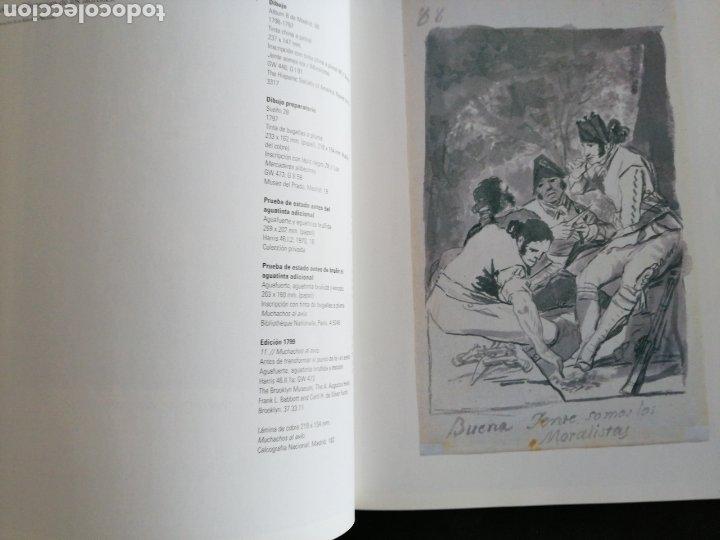 Libros: GOYA . LOS CAPRICHOS , dibujos y agua fuertes. Nuevo, tamaño 3ox22, año 1994 - Foto 3 - 201489987