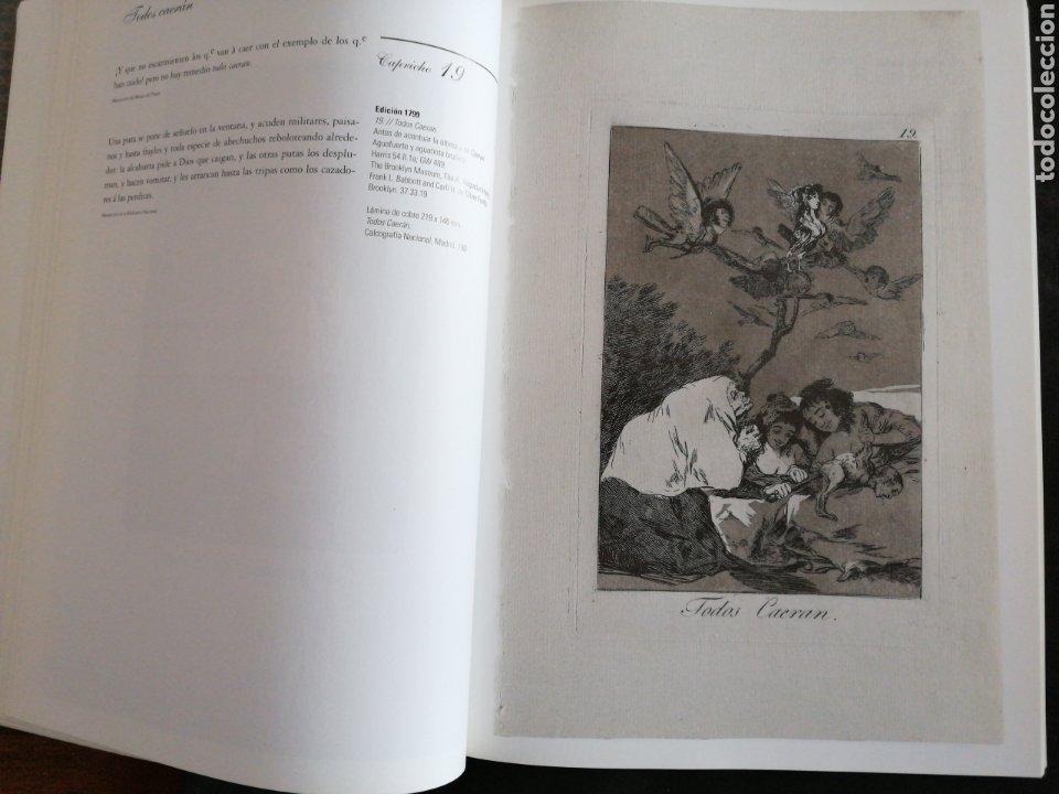 Libros: GOYA . LOS CAPRICHOS , dibujos y agua fuertes. Nuevo, tamaño 3ox22, año 1994 - Foto 4 - 201489987