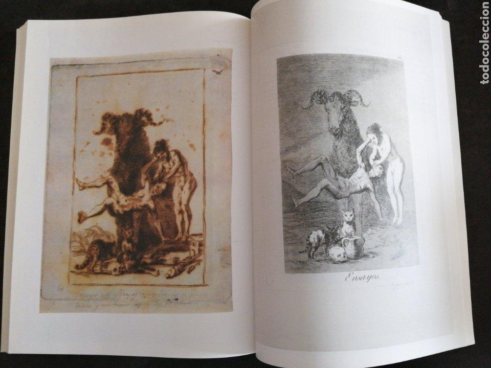 Libros: GOYA . LOS CAPRICHOS , dibujos y agua fuertes. Nuevo, tamaño 3ox22, año 1994 - Foto 6 - 201489987