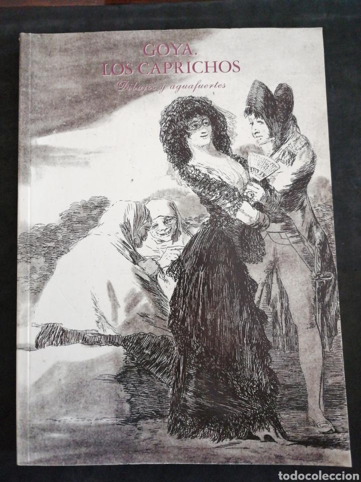 GOYA . LOS CAPRICHOS , DIBUJOS Y AGUA FUERTES. NUEVO, TAMAÑO 3OX22, AÑO 1994 (Libros Nuevos - Historia - Historia del Arte)