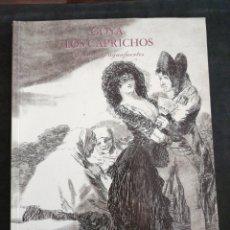 Libros: GOYA . LOS CAPRICHOS , DIBUJOS Y AGUA FUERTES. NUEVO, TAMAÑO 3OX22, AÑO 1994. Lote 201489987
