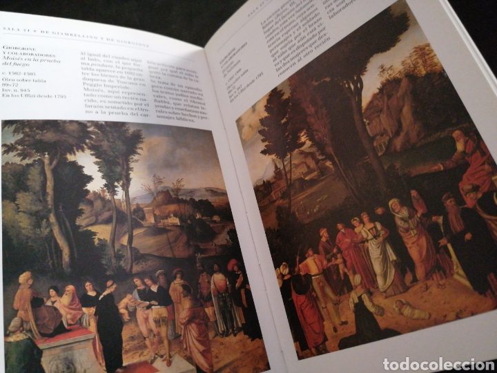 Libros: LOS UFFIZI, FLORENCIA, GUÍA . 19X12.. 155 PAG. - Foto 3 - 202478816