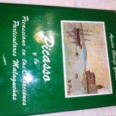 Libros: PICASSO EN LAS COLECCIONES PARTICULARES MALAGUEÑAS. Lote 204366836