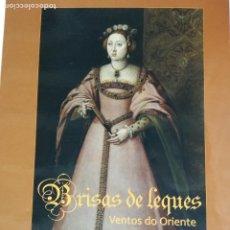 Libros: BRISAS DE ABANICOS , VIENTOS DEL ORIENTE LIBRO SOBRE LA HISTORIA DEL ABANICO .. Lote 204822503