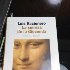 Libros: LA SONRISA DE LA GIOCONDA. Lote 207726776