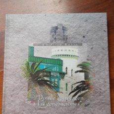 Libros: DONDE CONVERGEN LAS GENERACIONES, ELADIO LAREDO. Lote 208064450