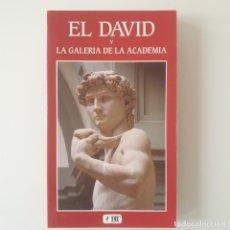 Libros: EL DAVID Y LA GALERÍA DE LA ACADEMIA.. Lote 208830048