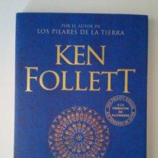 Libros: NOTRE-DAME KEN FOLLET FIRMADO. Lote 210519590