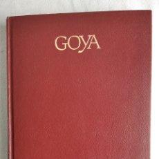 Libros: BIOGRAFÍA DE GOYA.. Lote 213239615