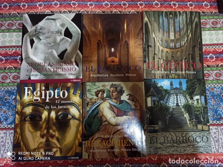 BARROCO EGIPTO NEOCLÁSICO ROMÁNICO GÓTICO RENACIMIENTO KONEMANN ARTE LOTE LIBROS (Libros Nuevos - Historia - Historia del Arte)