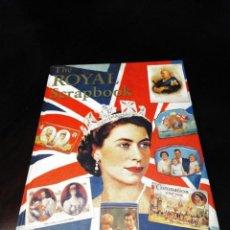 Libros: EL LIBRO DE RECUERDOS REALES BRITANICOS / THE ROYAL SCRAPBOOOK BY ROBER OPIE. Lote 215674276