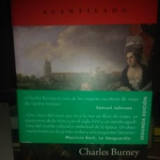 Libros: CHARLES BURNEY.VIAJE MUSICAL POR FRANCIA E ITALIA EN EL SIGLO XVIII..EDITORIAL ACANTILADO. Lote 217744287