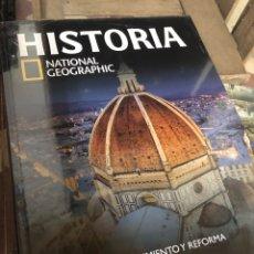 Libros: HISTORIA NATIONAL GEOGRAPHIC TOMO 23 RENACIMIENTO Y REFORMA. Lote 221830448