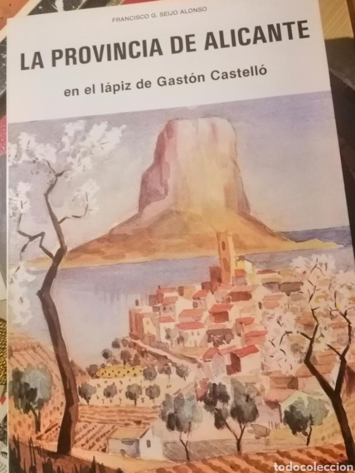 GASTON CASTELLÓ LA PROVINCIA DE ALICANTE A LAPIZ (Libros Nuevos - Historia - Historia del Arte)