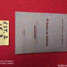 Libros: EL BELÉN DE SALZILLO AÑO 1941. Lote 228414795