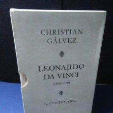 Libri: LIBRO CHISTIAN GALVEZ ,LEONARDO DA VINCI ,V CENTENARIO. Lote 233077265