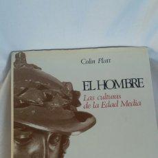 Libros: EL HOMBRE LAS CULTURAS DE LA EDAD MEDIA. Lote 233378350