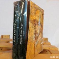 Libros: LAS CARTAS I Y II. ESTUCHE CARTAS VINCENT VAN GOGH A THEO. 2 TOMOS TAPA DURA. Lote 235328335