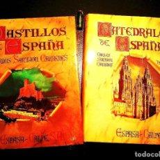 Libros: CATEDRALES Y CASTILLOS DE ESPAÑA - NUEVOS. Lote 239873270