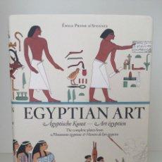 Libros: PRISSE D'AVENNES. EGYPTIAN ART (BIBLIOTHECA UNIVERSALIS, TASCHEN). Lote 251366765