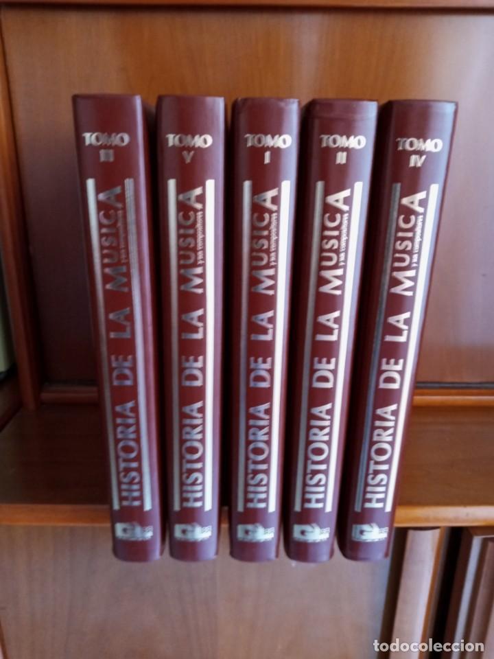 Libros: HISTORIA DE LA MUSICA - Foto 2 - 251543030