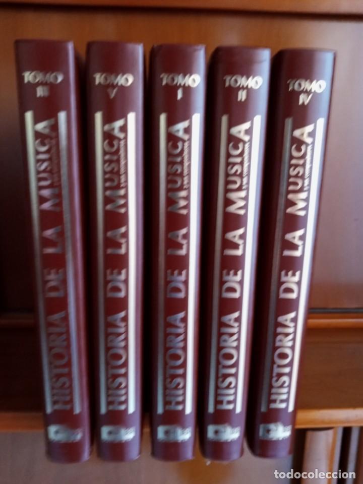 Libros: HISTORIA DE LA MUSICA - Foto 3 - 251543030