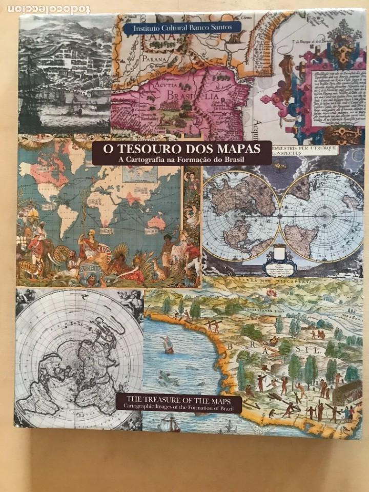 O TESOURO DOS MAPAS: A CARTOGRAFIA NA FORMACAO DO BRASIL, 2002. P. MICELI (Libros Nuevos - Historia - Historia del Arte)