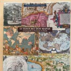 Libros: O TESOURO DOS MAPAS: A CARTOGRAFIA NA FORMACAO DO BRASIL, 2002. P. MICELI. Lote 251878405