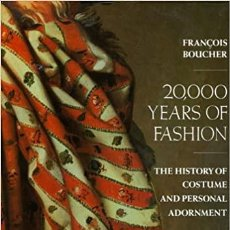 Libros: LA HISTORIA DE LA VESTIMENTA Y EL ADORNO PERSONAL THE HISTORY OF COSTUME AND PERSONAL ADORNMENT. Lote 252692055