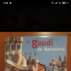 Libros: EL GAUDI DE BARCELONA. Lote 262153005