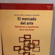 Libri: EL MERCADO DEL ARTE REFLEXIONES DE UN MARCHANTE. Lote 264261724