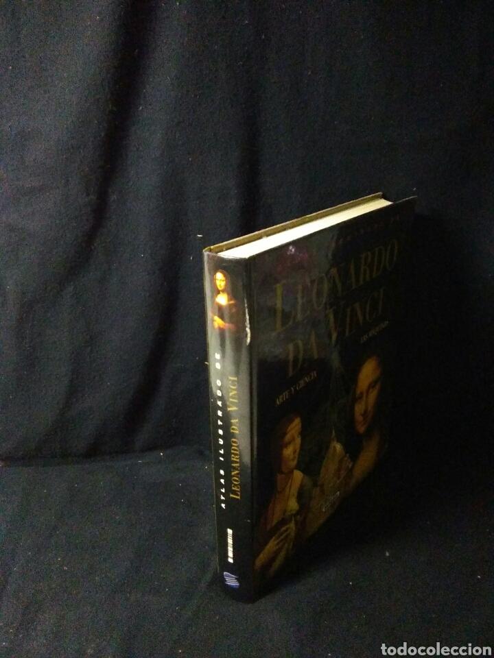Libros: Leonardo da vinci ,atlas ilustrado ,arte y ciencia - Foto 2 - 269770748
