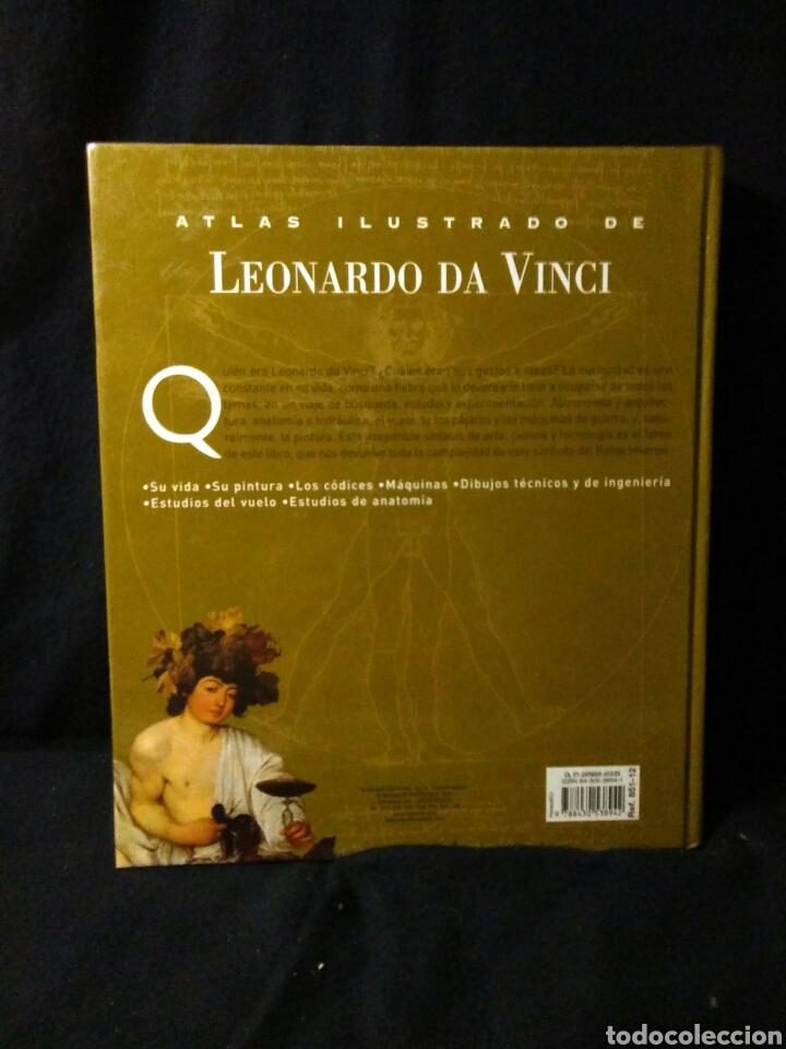Libros: Leonardo da vinci ,atlas ilustrado ,arte y ciencia - Foto 3 - 269770748
