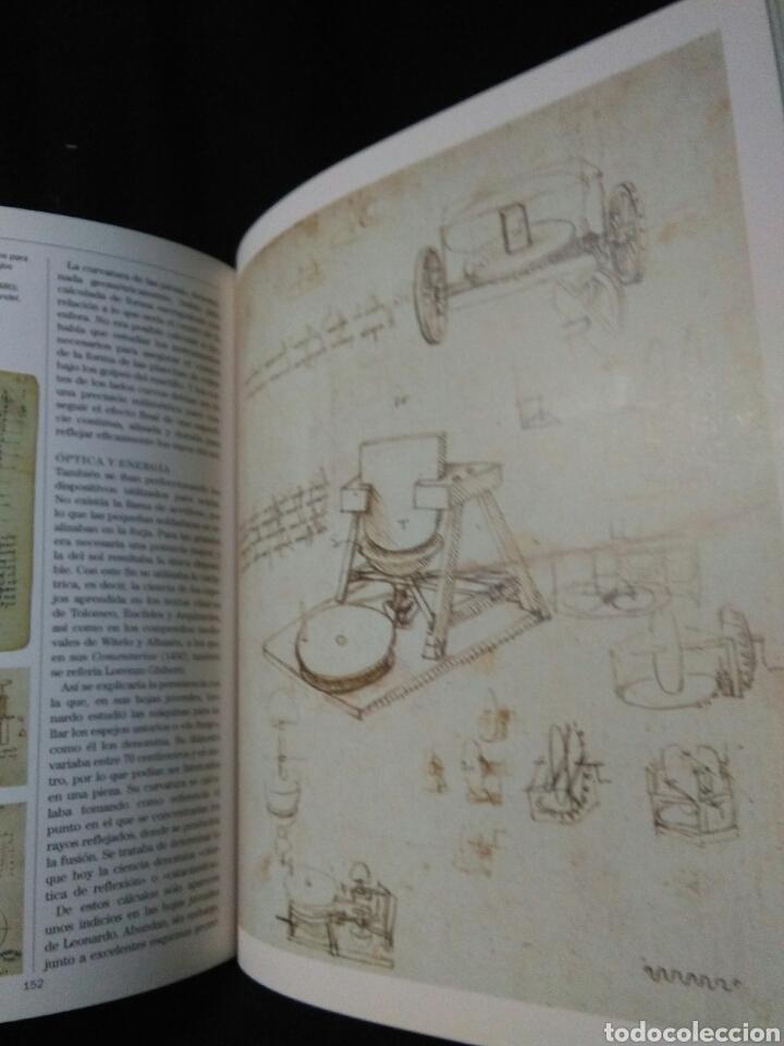 Libros: Leonardo da vinci ,atlas ilustrado ,arte y ciencia - Foto 5 - 269770748