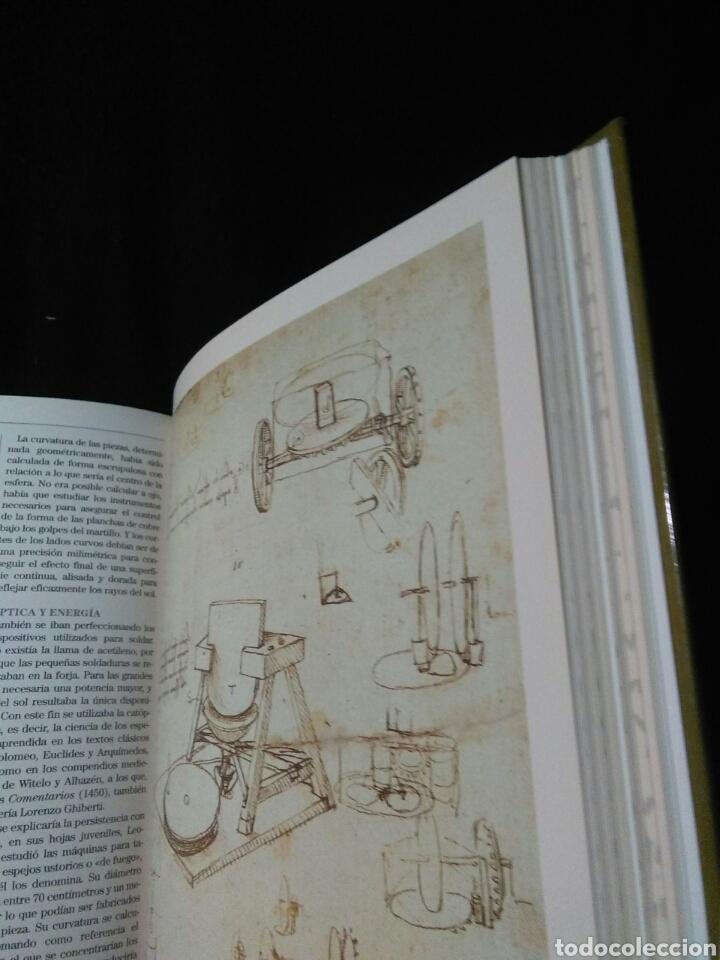 Libros: Leonardo da vinci ,atlas ilustrado ,arte y ciencia - Foto 6 - 269770748