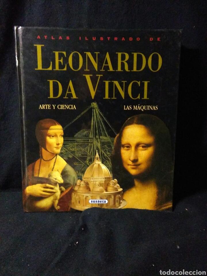 LEONARDO DA VINCI ,ATLAS ILUSTRADO ,ARTE Y CIENCIA (Libros Nuevos - Historia - Historia del Arte)
