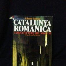 Libros: CATALUNYA ROMANICA ,LARQUITECTURA DEL SEGLE XI ,EDUART JUNYENT ,. Lote 269838098